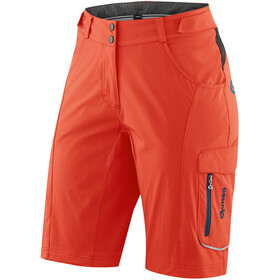Gonso Garni fietsbroek kort Dames oranje